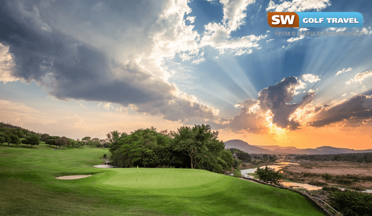 the top three golf courses of South Africa