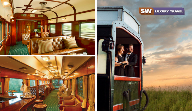 The best luxury train in South Africa