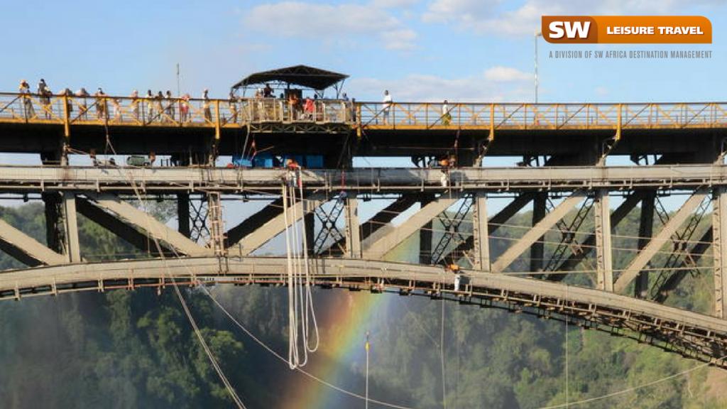 bridge jumping in Vic falls