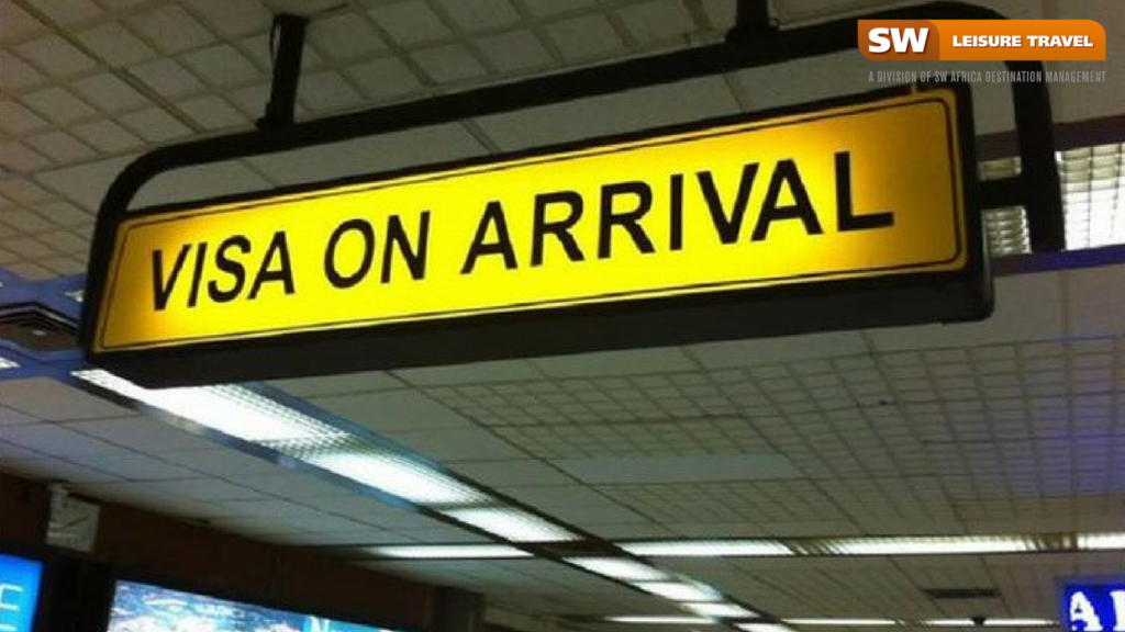 dual-entry visa on arrival