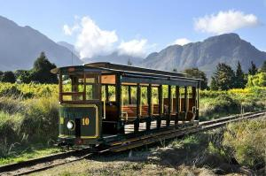 Explore Franschhoek in old world style