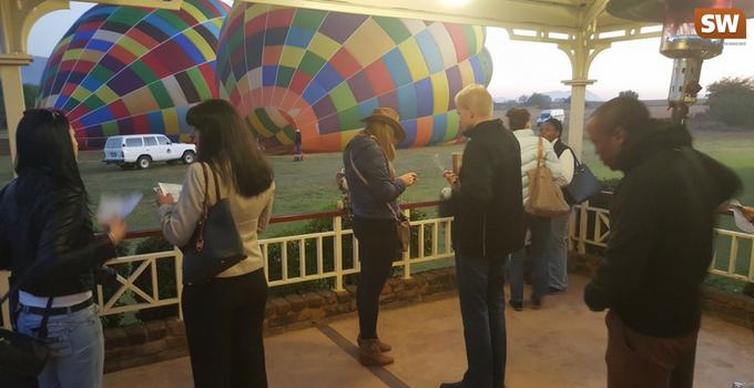 Bill harop balloon safari